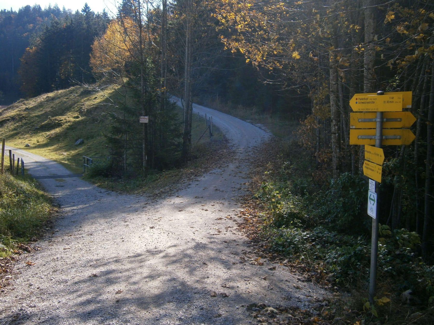 samerberg-schwarzrieshuette-11-abbiegung-links