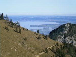 Bild Kampenwand Blick auf dem Chiemsee