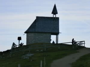 Bild Kampenwand Steinlingalm Kapelle