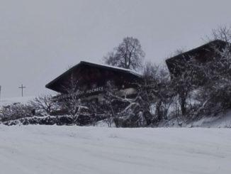 Bild Berggasthof Hocheck Skiabfahrt