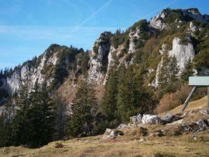 Bild Blick von der Kampenwand Bergstation
