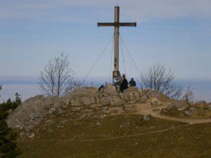 Bild Kampenwand Andachtskreuz