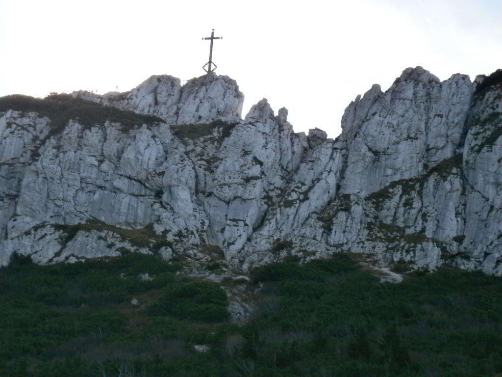 Kampenwand Gipfelkreuz
