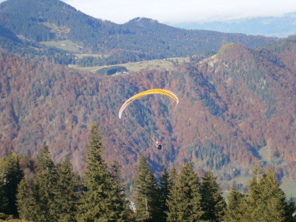 Bild Kampenwand Paragliding